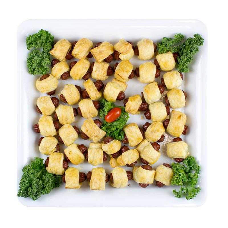 Mini-Suasage-Roll-Platter